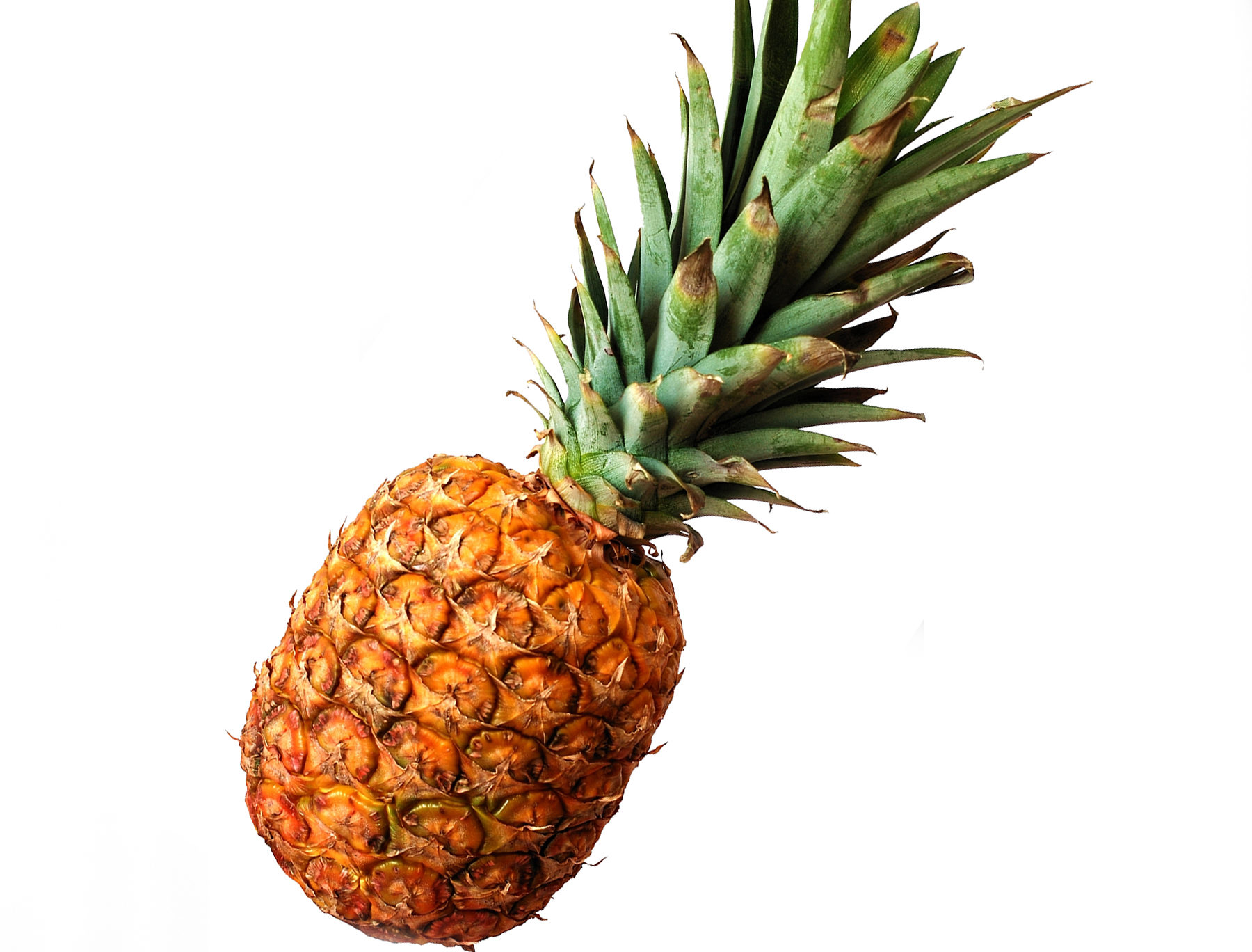 Fresh whole golden pineapple