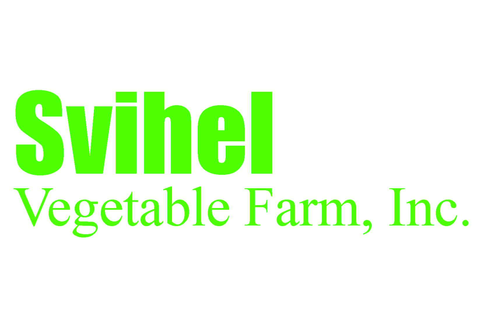 Svihel Vegetable Farm logo